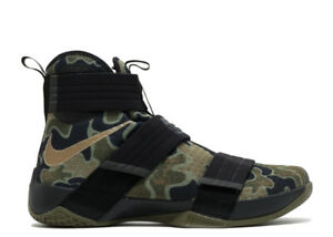 LEBRON SOLDIER ARMY CAMO SIZE 10 - LIKE NEW