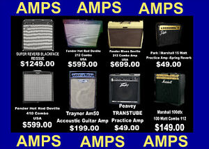 AMPS . AMPS . AMPS -$49 AND UP
