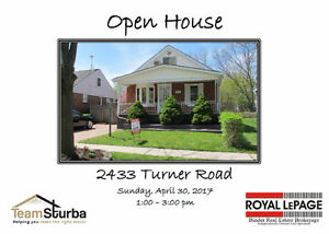 Open House Sunday, April 30, 2017 1-3 pm