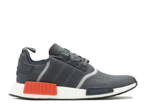 Brand New Adidas NMD S31510 Wool Grey Red Size 9.5 59c971ad4