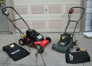 2 Cordless Electric Lawn Mowers (as is)