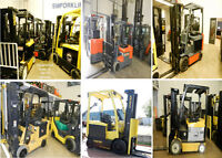 SMforklift chariots élévateurs retour de locations lease return