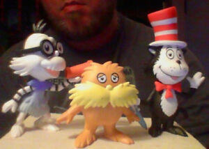 3 Funko Mystery Mini Dr. Seuss Figures For Sale Or Trade!