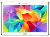 samsung tab s 10.5 inch comes with flip case and carry case