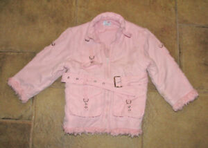 Adorable Pink Girls Winter Coat by Jumbo 2-3 year old