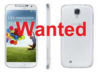 WANTED Broken Samsung S4