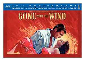 Gone with the Wind: Ultimate Edition Bluray