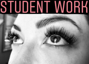 Glamourous eyelash extensions, microblading and training