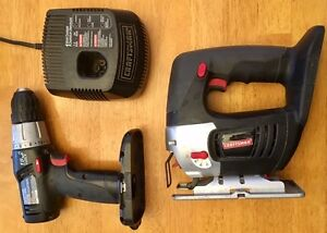 Craftsman Drill, Jigsaw, Charger. 19.2 V Peterborough Peterborough Area image 1