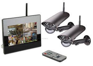 2 CH wireless surveillance system