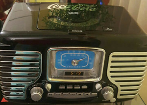 Coca Cola Retro Radio CD Player
