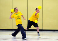 Join a dodgeball league for free this winter!