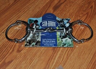 NWT Stabrite stainless steel loose ring gag 5