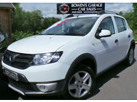 2014 DACIA SANDERO STEPWAY 1.5DCI AMBIANCE - 1 OWNER - £20 TAX - FULL S/HISTORY