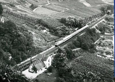 altes Baryt-Foto DB 110 xxx Istein 1977 - ca 9x14