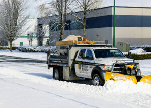 Snow Removal and Salting Services in Greater Vancouver Area