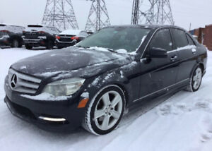 Mercedes Benz C350 Back up camera GPS toit panoramique