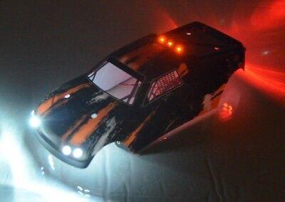 1/16th scale Redcat Racing Tremor SG body K12 w/LED Lights Orange 2 17004