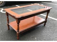Coffee Table ( glass Top)