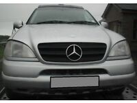 BREAKING 2001 MERCEDES JEEP 320 PETROL AUTOMATIC -- NO TEXTS PLEASE - NEWRY / ARMAGH
