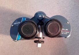 Swift 20x80 binoculars and tripod