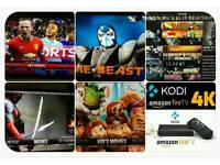 Amazon fire stick Fire TV box kodi the Beast smart iptv LG Samsung smart TV