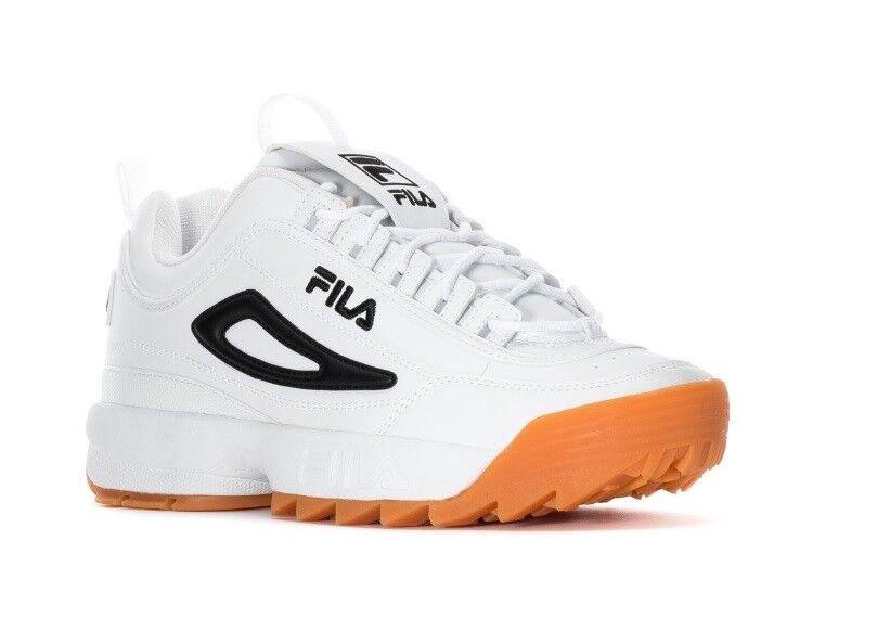 f0e45880f1a7 купить FILA DISRUPTOR Black White, с доставкой NEW MEN FILA DISRUPTOR II  WHEAT WHITE BLACK