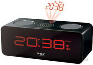 Oregon Scientific RRA320PN Radio Projection Alarm Clock