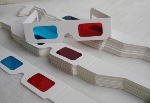 4 Pairs of 3D Glasses! Free Shipping! Ships from USA!