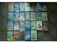 Walt Disney VHS videos