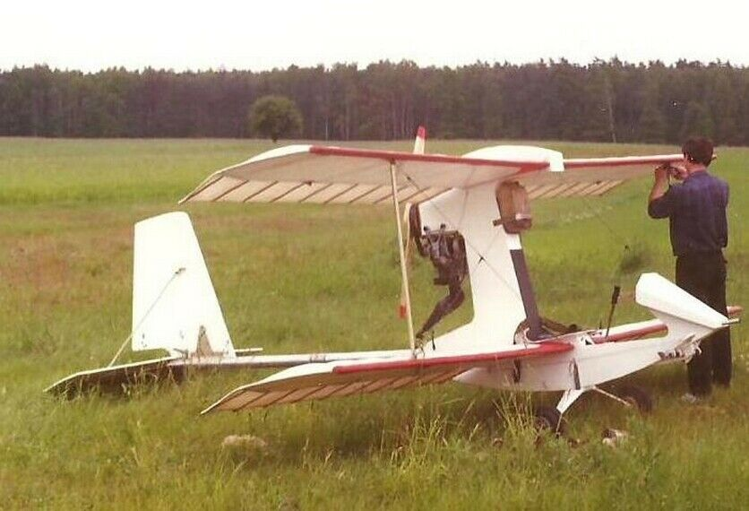 Wing Ding-II light aircraft for beginners Plans.