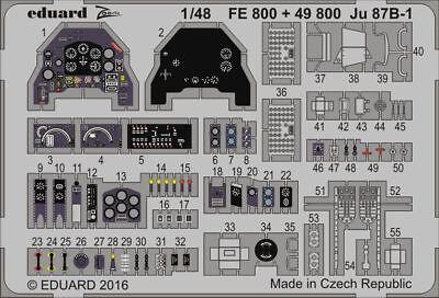 Eduard Accessories 49800 - 1:48 Ju 87B-1 For Airfix - Ätzsatz - Neu