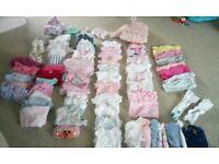 Huge 0-3 months baby girl bundle. Over 70 items. Brislington.