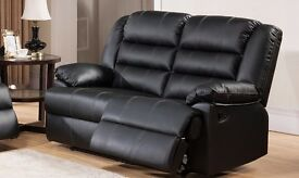 Thurma 3 and 2 seat leather recliner