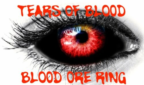 Tears Of Blood Ring Safe Easy Punish Others Send Justice Karma Pain
