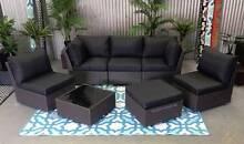 OUTDOOR 7 piece MUTLI WAY deluxe model modular sofa set Hendon Charles Sturt Area Preview