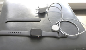 Apple watch series 3 - cellular/gps - lightly used