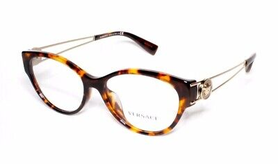Versace Eyewear 3254 5148 54.16 140 Tortoise Brown Gold Women's Frames