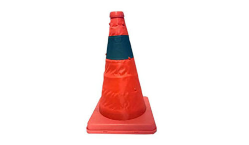 Collapsible Pop Up Traffic Cone Work Area Protection Child Safety Emergency 4414