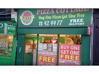 PIZZA TAKEAWAY SHOP BUSINESS FOR SALE IN LUTON - RENT FREE!