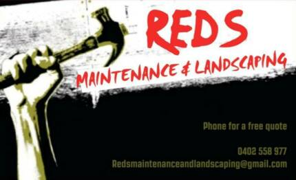 Reds maintenance and landscaping Hobart CBD Hobart City Preview