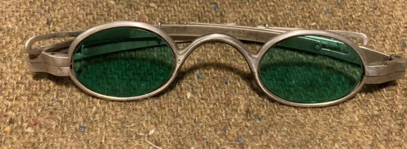 RARE McAllister Philadelphia Tinted Spectacles ~ just like Gen Robert E Lee's