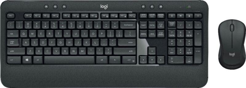 Logitech MK540 Advanced Wireless Keyboard and Mouse Bundle Black 920-008671