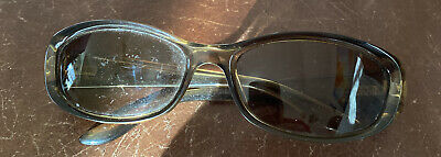 GUCCI VINTAGE WOMENS SUNGLASSES GLOSS Brown FRAME W/ Brown LENS