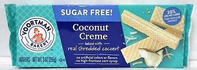 Voortman Sugar Free Coconut Creme Wafers Cookies 9 -