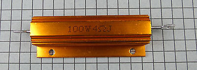 4 Ohm 100 Watt Resistor For Dummy Load 1pc Per Lot