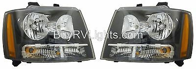 TIFFIN ALLEGRO 2009 2010-2012 PAIR HEADLIGHTS HEAD LIGHTS FRONT LAMPS SET RV
