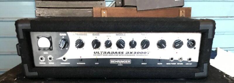 Behringer Ultrabass 3000T Amplifier Head