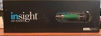 Thin L Bend Dental Ultrasonic Scaler Insert Led Lighted 30k Cavitron Discus