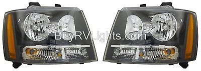 TIFFIN PHAETON 2008 2009 2010 PAIR SET FRONT HEAD LIGHTS LAMPS HEADLIGHTS RV